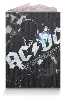 """Обложка для паспорта """"AC/DC"""" - rock, ac dc"""