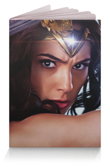 "Обложка для паспорта ""Чудо-Женщина (Wonder Woman)"" - амазонка, чудо-женщина, wonder woman, diana"