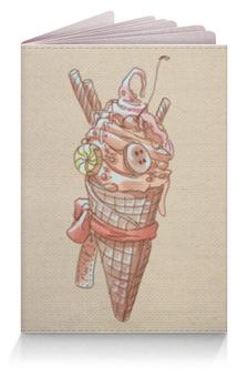 """Обложка для паспорта """"Summer time"""" - лето, сладости, мороженое"""