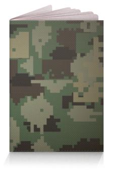 """Обложка для паспорта """"Камуфляж"""" - 23 февраля, армия, камуфляж, защитник отечества"""