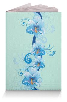 """Обложка для паспорта """"Цветы"""" - разное"""