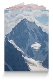 """Обложка для паспорта """"Горы на паспорте"""" - горы"""