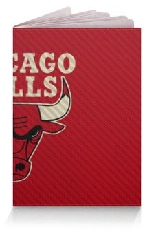 """Обложка для паспорта """"Чикаго Буллз """" - чикаго буллз"""