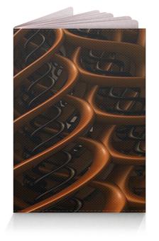 """Обложка для паспорта """"Спираль"""" - спираль, абстракция"""