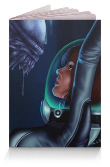 """Обложка для паспорта """"Чужой (Alien)"""" - alien, чужой"""