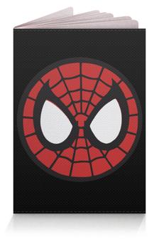 """Обложка для паспорта """"Spider-man / Человек-паук"""" - человек-паук, spider-man, мультфильм, комиксы, фильм"""