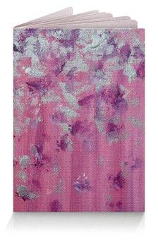 """Обложка для паспорта """"Розовое настроение"""" - любовь, розовый, нежность, серебро, женское"""