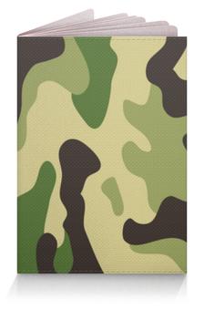 """Обложка для паспорта """"Камуфляж"""" - война, army, солдат, camo, арсия"""
