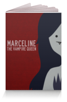 "Обложка для паспорта ""Обложка на паспорт ""Marceline"""" - время приключений, adventure time, marceline, марселин"