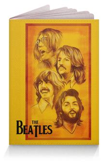 """Обложка для паспорта """"The Beatles"""" - beatles, the beatles, битлз, рок музыка, рок группа"""