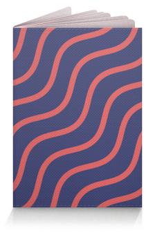 """Обложка для паспорта """"Волнистый"""" - узоры, рисунок, стильный, полосатый, волнистый"""