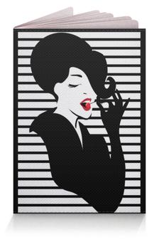"""Обложка для паспорта """"Фэшн иллюстрация. Красивая девушка в пинап стиле"""" - арт, яркий, для девушки, стильный, модный"""