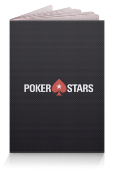 "Обложка для паспорта ""POKERSTARS"" - покер, казино, pokerstars, casino, full tilt poker"