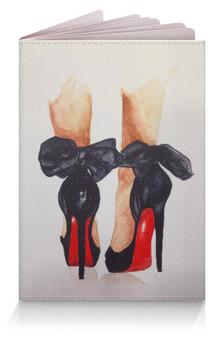 """Обложка для паспорта """"Shoesssy"""" - стиль, туфли, каблуки, мода, девушка"""
