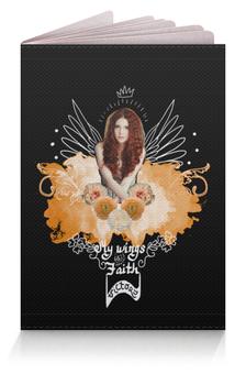 """Обложка для паспорта """"Коллаж. Королева с крыльями"""" - красота, стильный, фэшн, красивая девушка, богиня"""