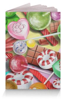 """Обложка для паспорта """"Сладости"""" - конфеты, сладости, candy"""