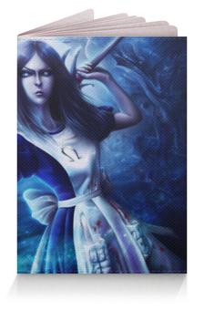 """Обложка для паспорта """"Алиса в Стане Чудес"""" - алиса в стане чудес"""