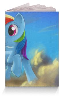"Обложка для паспорта ""Радуга Дэш"" - rainbow dash, my little pony, friendship is magic, радуга дэш"