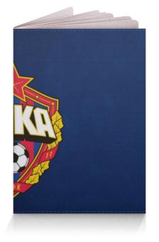 """Обложка для паспорта """"ЦВБП-ОУКС"""" - цска, чемпион, красно-синий, цвбп, оукс"""