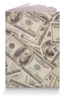 """Обложка для паспорта """"Доллары"""" - деньги, money, баксы"""