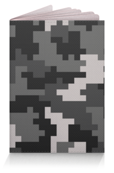 """Обложка для паспорта """"Камуфляж"""" - 23 февраля, армия, камуфляж, военный, защитник отечества"""
