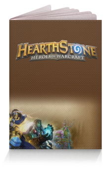 "Обложка для паспорта ""HearthStone Passport"" - warcraft, hearthstone, difylshop, difyl, хардстоун"