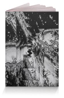 """Обложка для паспорта """"Космос Чёрно-Белый"""" - space, black, космос, universe"""