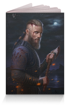 """Обложка для паспорта """"Викинги"""" - сериалы, викинги, рагнар, лодброк"""