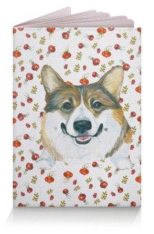 """Обложка для паспорта """"Корги Ася """" - животные, собака, корги, вельшкорги"""
