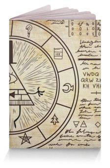 """Обложка для паспорта """"Билл Шифр (Гравити Фолз)"""" - bill"""
