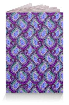 """Обложка для паспорта """"Многоцветный узор пейсли"""" - узор, орнамент, этнический, индийский, пейсли"""