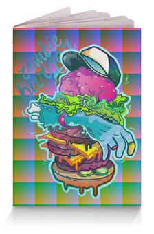 """Обложка для паспорта """"Zombie Burger"""" - зомби, zombie, бургер, burger"""