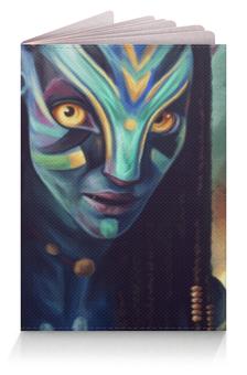 "Обложка для паспорта ""Аватар"" - аватар, avatar"