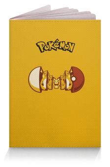 "Обложка для паспорта ""Pokemon go"" - pokemon go, pokemon, пикачу, покемоны, pikachu"