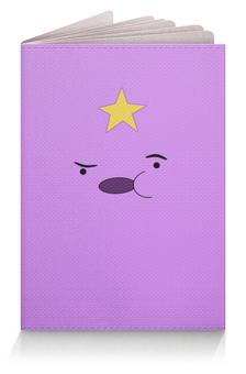 """Обложка для паспорта """"Adventure Time"""" - adventure time, время приключений, пупырка, lumpy"""