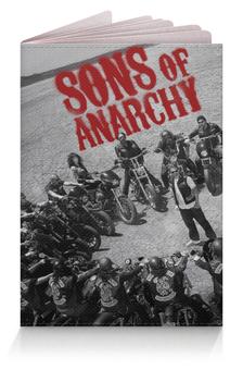 """Обложка для паспорта """"Сыны анархии / Sons of Anarchy"""" - рисунок, кино, сериал, сыны анархии"""