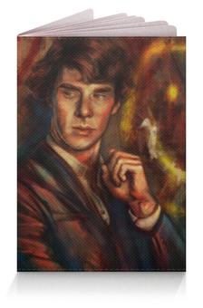 """Обложка для паспорта """"Шерлок (Sherlock)"""" - шерлок, detective"""