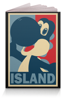 """Обложка для паспорта """"Йоши (Марио)"""" - yoshi, йоши"""