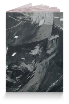 """Обложка для паспорта """"Солид Снейк (Биг Босс)"""" - metal gear, big boss"""