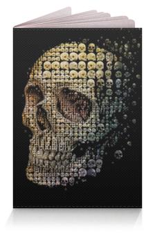 """Обложка для паспорта """"Череп"""" - skull, черепа"""
