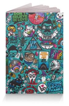 """Обложка для паспорта """"Stickers"""" - арт, стиль, рисунок, дизайн, графика"""