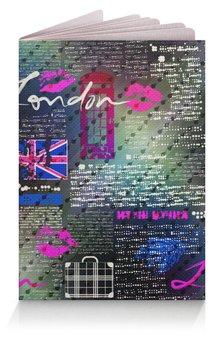 """Обложка для паспорта """"Лондон """" - стиль, мода, путешественникам"""