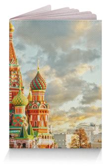 """Обложка для паспорта """"Россия"""" - русский, патриот, россия, рф"""