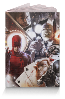 """Обложка для паспорта """"Dc comics"""" - комиксы, супергерои, dc, comix, dc comics"""