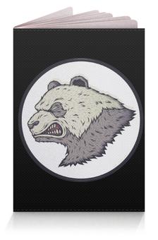 """Обложка для паспорта """"Angry PANDA / Злая Панда"""" - животные, панда, panda, злая панда, angry panda"""
