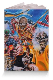 "Обложка для паспорта ""Iron Maiden"" - iron maiden"