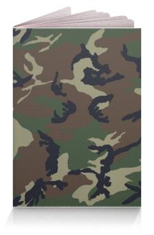 """Обложка для паспорта """"Камуфляж"""" - камуфляж, camouflage"""