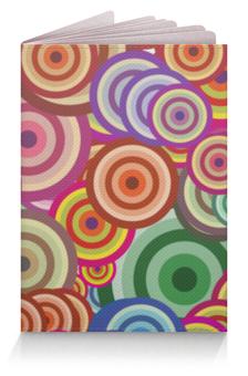 """Обложка для паспорта """"Цветные круги"""" - узор, стиль, круг, рисунок, абстракция"""