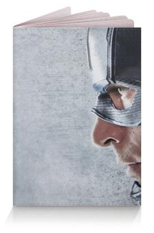 """Обложка для паспорта """"Первый мститель: Противостояние"""" - железный человек, iron man, капитан америка, captain america"""