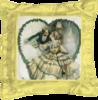 "Подушка простая ""Без названия"" - арт, настроение, винтаж, 14фев, harrison fisher"